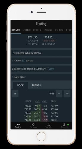 bitfinex iphone app