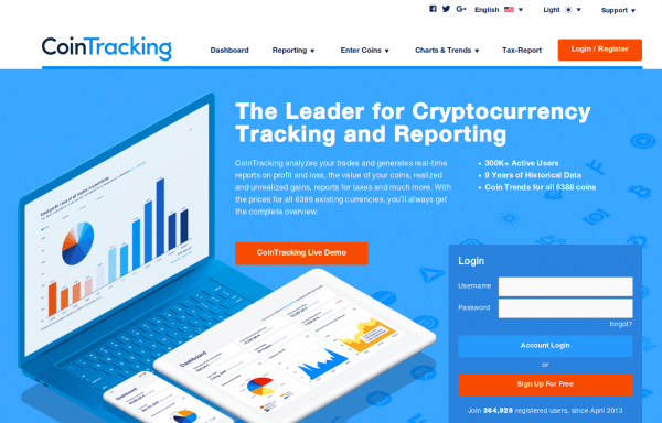 crypto tax report and accounting tool