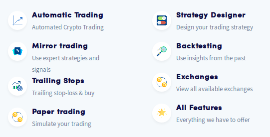 Cryptohopper Review - Features