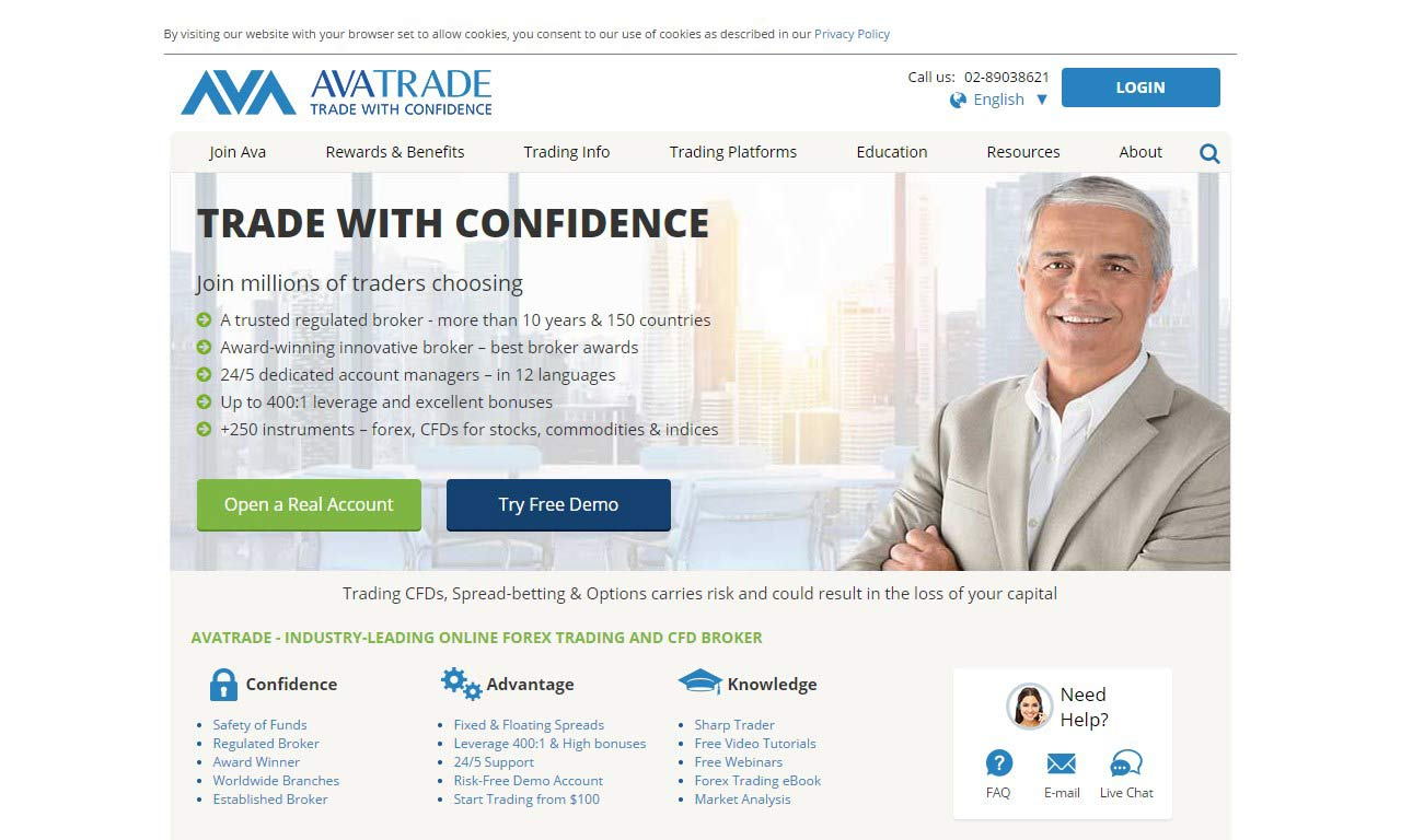 Avatrade.com – Pros and Cons of Crypto Trading with Avatrade