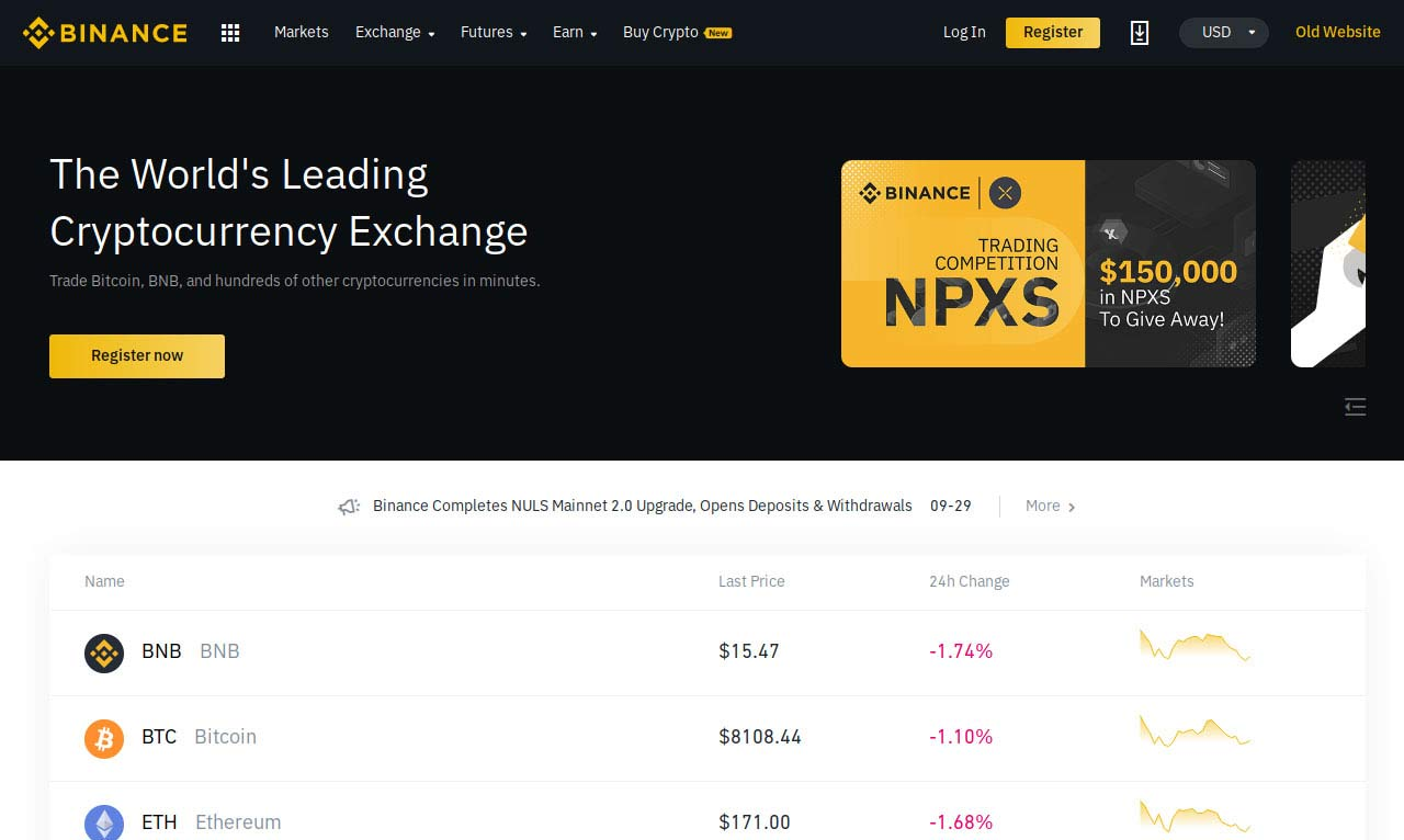 Binance.com Review 2019 – Pros and Cons of Trading on BINANCE