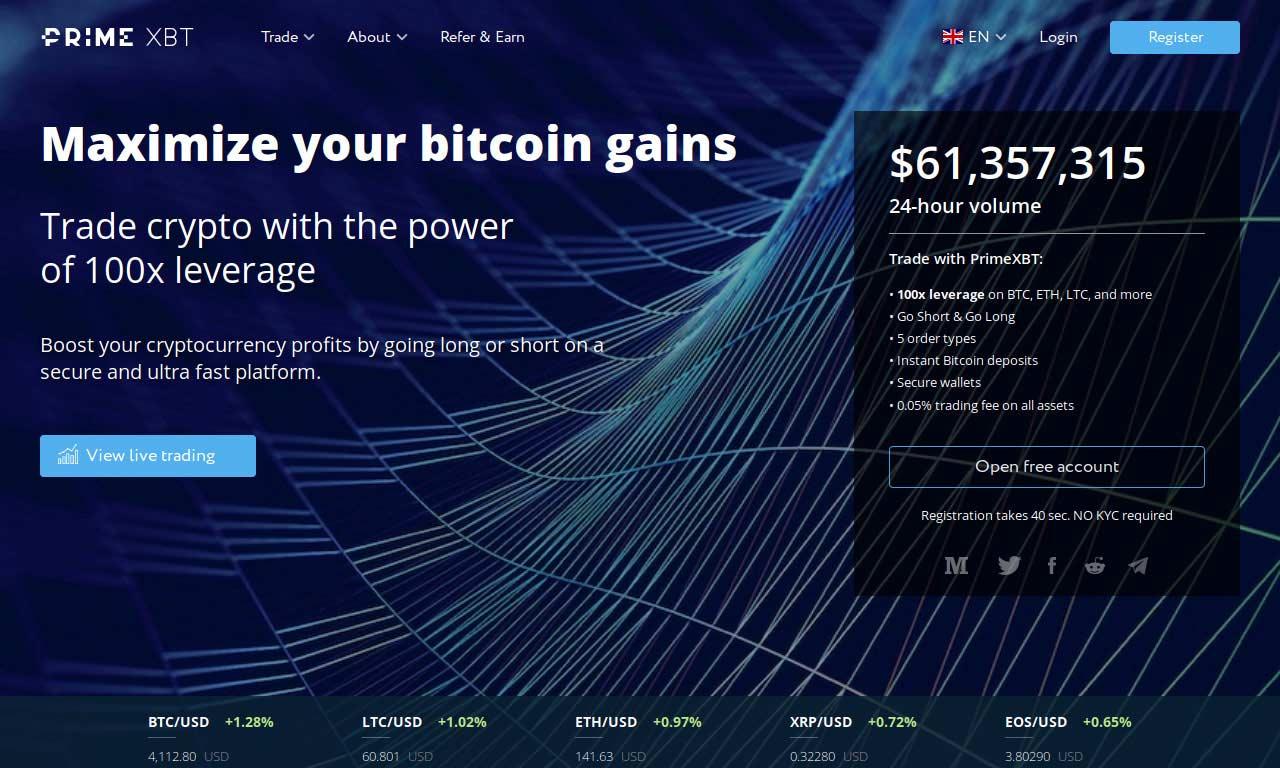 PrimeXBT.com Review 2021 – Pros and Cons of Trading PrimeXBT