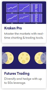Kraken Pro (margin trading) and Futures