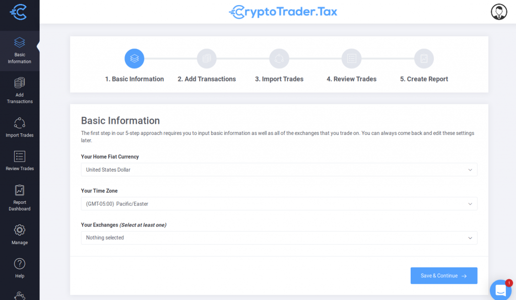 Using CryptoTraderTax