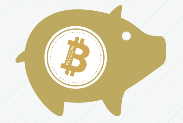 BTC savings pig