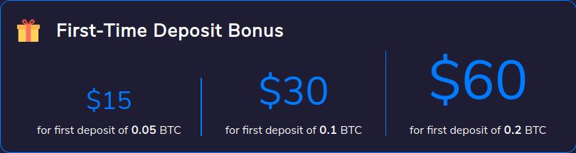 Duedex Review – deposit bonuses