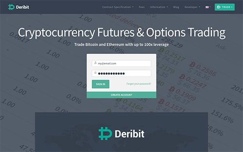 Deribit BTC Futures short trading opportunity