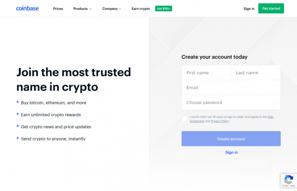 Coinbase United States