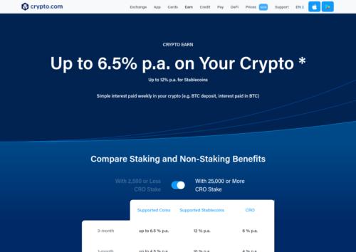crypto.com saving accounts